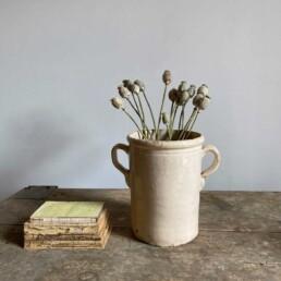 Antique Italian Chiminea Preserve Pot Medium Jermaine