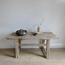 Rustic Elm Coffee Table | Aveline