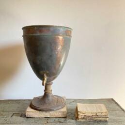 Copper Vintage Urn with tap