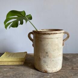 Antique Italian Chiminea Preserve Pot Large Jepson