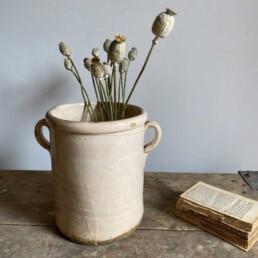 Antique Italian Chiminea Preserve Pot Large Jessica