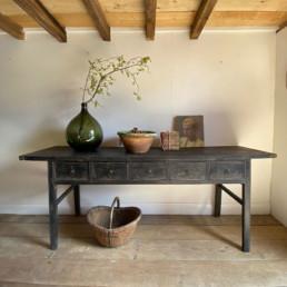 Large Antique Console Table | Larissa