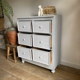 Vintage Paint Chest of Drawers