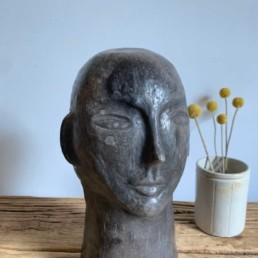 Handcrafted-African-pottery-collection-Head-Scuplture-b