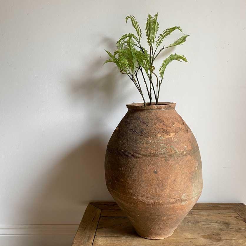 Antique Mediterranean Urn | Lucille
