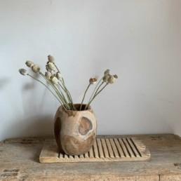 Reclaimed timber Sphere bowl