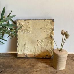 Vintage American Tin Tile - Medium | G