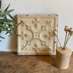 Vintage American Tin Tile - Medium | F