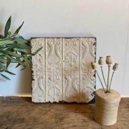 Vintage American Tin Tile - Medium | i