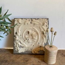 Vintage American Tin Tile - Medium | J