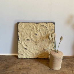 Vintage American Tin Tile - Medium | K