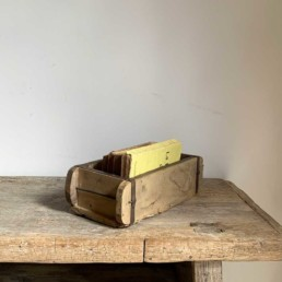 Vintage timber brick mould