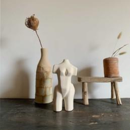 Vintage Cubist Female Form | Louise Heide