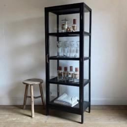 Glass Display Cabinet 4 Shelves