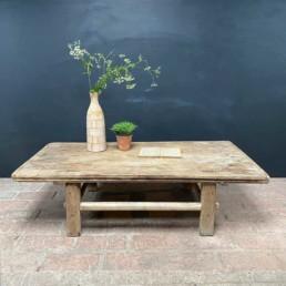 Antique Elm Coffee Table | Lyndon