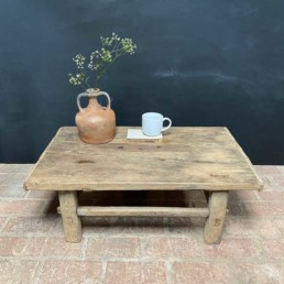 Antique Elm Coffee Table   Mabel