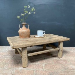 Antique Elm Coffee Table | Mabel