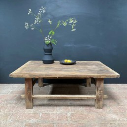 Antique Pine Coffee Table | Madeline