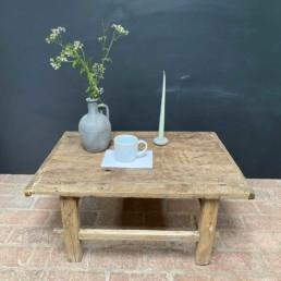 Elm Antique Coffee Table   Madoc