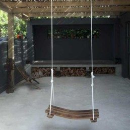 Large Swing | Recycled Wine Barrel Staves