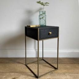 Black-Bedside-Cabinet-Brass-Legs