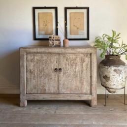 Reclaimed Elm Two Door Cabinet | Agatha