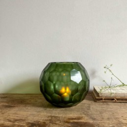 Green-Geometric-Candle-Holder