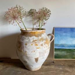 Antique French Confit pot   Hollis