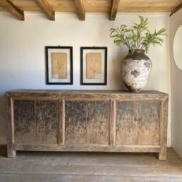 Old Elm Six Door Cupboard | Luella