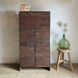 Antique French Bank of Drawers | Megdalen