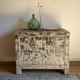 Elm Rustic Two Door Cupboard | Bertha