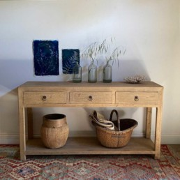 Reclaimed Elm Console Table | Blanche