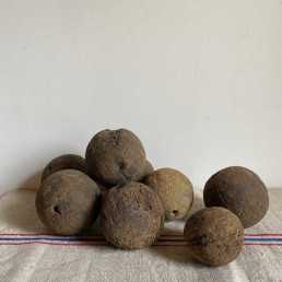 Antique French Wooden Boules