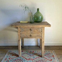 Reclaimed Elm Console With Drawers | Cora Reclaimed Elm Console With Drawers | Cora