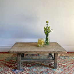 Small Elm Antique Coffee Table | Elsie