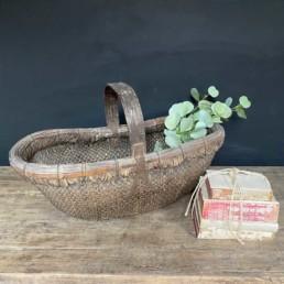 Antique Market Basket Extra Large