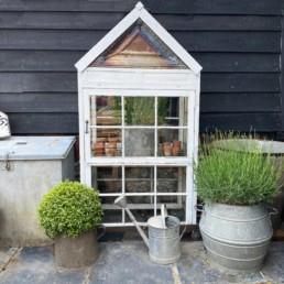 Vintage reclaimed windows Greenhouse