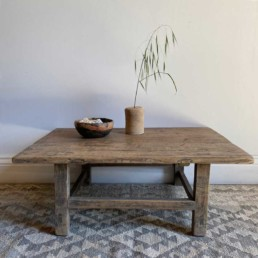 Small Elm Antique Coffee Table | Harriet