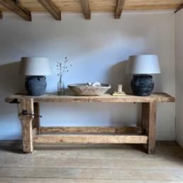 Large Beech Antique workbench | Herbie
