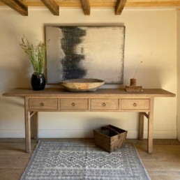Large Console Table With Drawers | Kitty