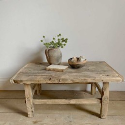 Small Antique Coffee Table | Masie