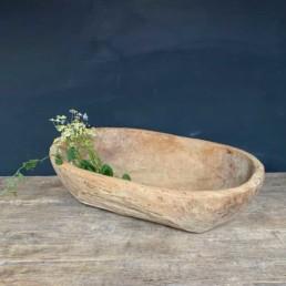 Antique Dough Bowl Michalia
