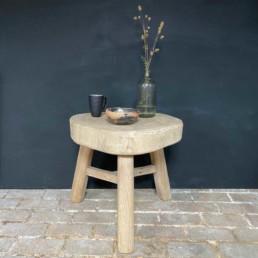 Timber slab coffee table | Milburn
