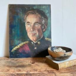 Antique Oil Portrait painting | Philip