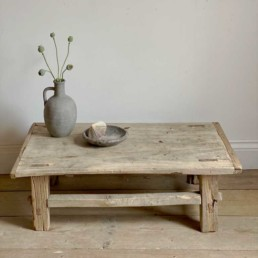 Small Antique Coffee Table | Nadia