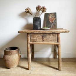 Antique Console With Drawer | Nannette