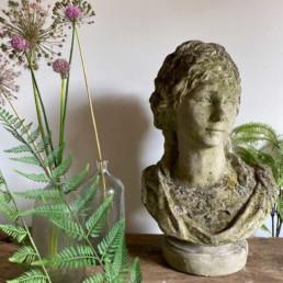 Antique Stone Female Bust | Oriel