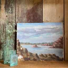 Small Vintage Oil Painting | Hope