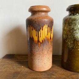 West German Pottery Vase   C
