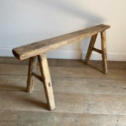 Antique Rustic Wooden Bench | Emilia 110cm